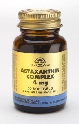 Solgar Astaxantin komplex 4mg 30 kapslar