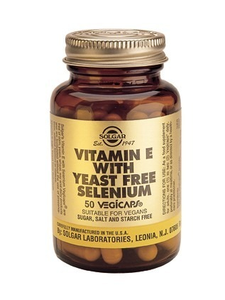 Solgar Vitamin E med Selen 100 kapslar
