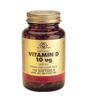 Solgar Vitamin D 400iu 10mcg 100 kapslar