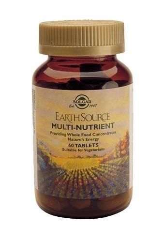 Solgar Earth Source 60 tabletter Vitaminer Mineraler
