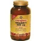 Solgar Vitamin C 500 mg 90 tuggtabletter tranbär hallon smak