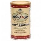 Solgar WHEY TO GO Vassleproteinpulver chokoladsmak 1150gram