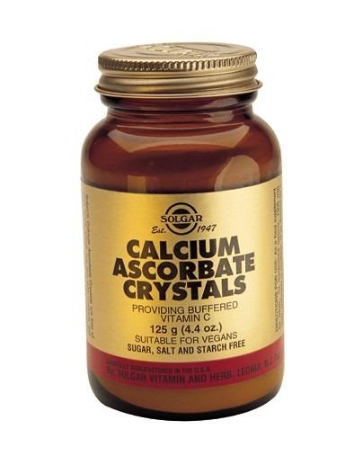Solgar Kalciumaskorbat Kristaller pulver 125gram